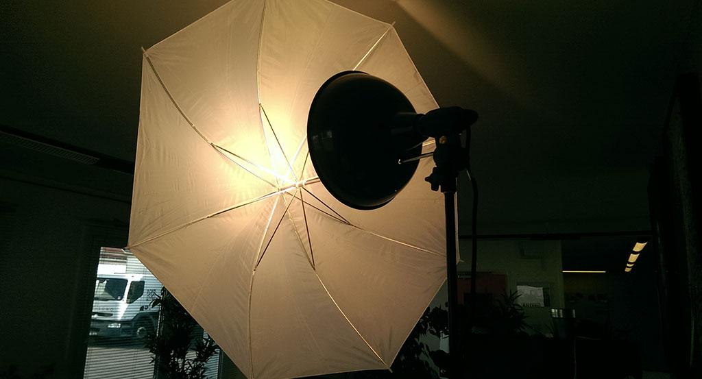 Parapluie réflecteur