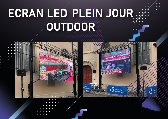 Ecran LED plein jour - outdoor