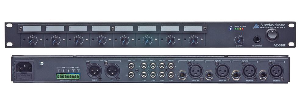 Mélangeur Australian Monitor - MX82