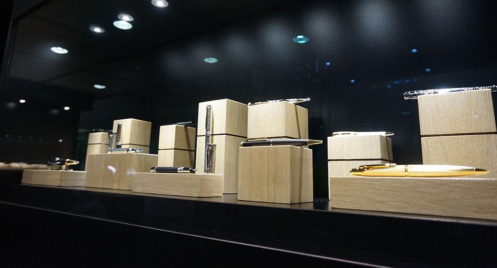 Création de vitrine d'exposition